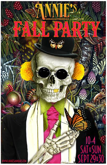 Join in the FALL PARTY FUN  Sept. 29 & 30 10am-4pm!